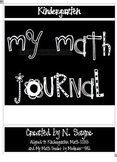 Common Core K Math Journal-Revised