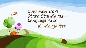Common Core Kindergarten