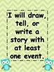 Common Core Kindergarten Narrative Writing Standard
