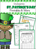 St. Patrick's Day Unit - Kindergarten - CCSS Aligned