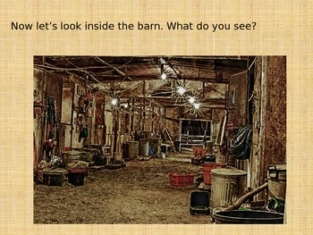 Common Core Kindergarten Virtual Field Trip to a Farm, Listening and Learning