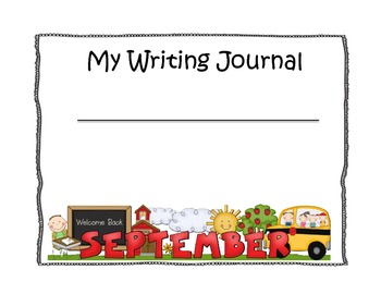 Common Core Kindergarten Writing Journals