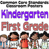 Common Core Kindergarten and First Grade Posters  Melonhea