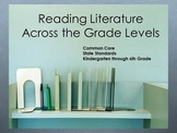 Common Core Reading Standards & Reading Literature PPT
