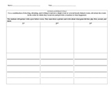 Common Core Kindergarter worksheet