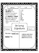 Common Core L.4.1d Ordering Adjectives standard based lesson
