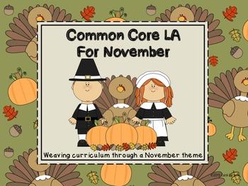 Common Core LA for November