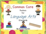 Common Core LANGUAGE ARTS Posters for 3rd grade