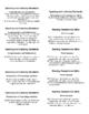 Common Core Labels for Language Arts in Kindergarten