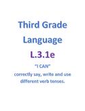 Common Core Language - 3.1e