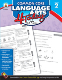 Common Core Language Arts 4 Today Grade 2 SALE 20% OFF! 104597