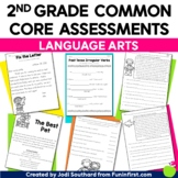 Common Core Language Arts Assessments for 2nd Grade