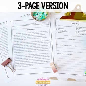image regarding 3rd Grade Language Arts Assessment Printable named Looking through Investigation 3rd Quality - Sewdarncute