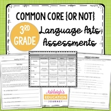 Third Grade Language Arts Assessments | Print or Distance Learning
