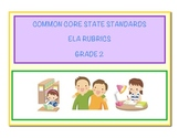 Common Core Language Arts - ELA Grade 2 Rubrics