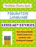 Common Core Language Arts Figurative Language Quiz