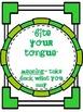 Common Core: Language Arts: Idioms Posters
