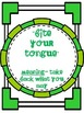 Common Core: Language Arts: Idioms Posters