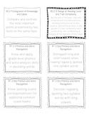 Common Core Language Arts Standard Labels 2nd Grade