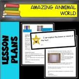 Amazing Animal World 6 WEEK LESSON PLAN BUNDLE