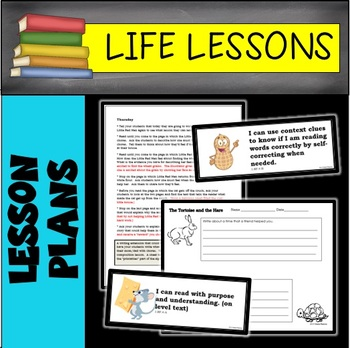 Life Lessons 6 WEEK LESSON PLAN BUNDLE