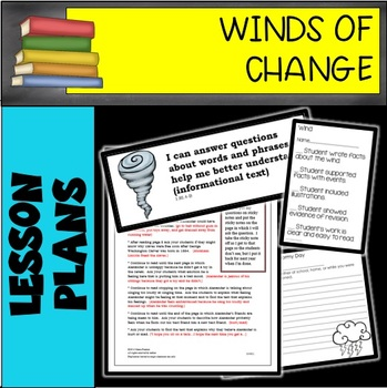 Winds of Change 6 WEEK LESSON PLAN BUNDLE