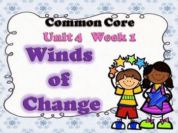 Winds of Change Week 1 Lesson Plans