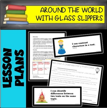 Around the World with Glass Slippers 6 WEEK LESSON PLAN BUNDLE