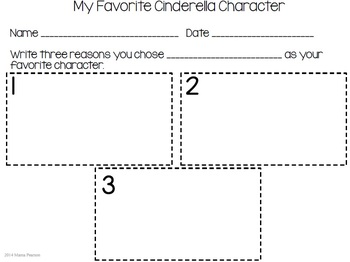 Around the World with a Glass Slipper Week 1 Lesson Plans