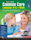 Common Core Language Arts and Math Grade 1 SALE 20% OFF! 704501