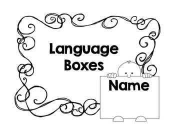 Common Core Language Boxes for 3rd Grade