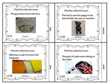 Language Fundamentals Bundled Set of Task Cards