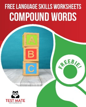Common Core Language: Compound Words (FREE Practice Worksheets)