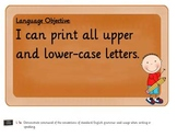 Common Core Language Objective Posters