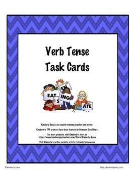 Common Core Language Skills Task Card Bundle