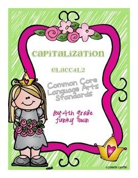 Common Core: Language Standard: Capitalization
