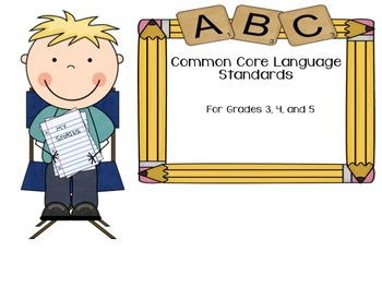 Common Core Language Standards