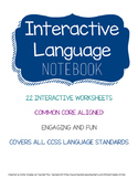 Language Arts Interactive Notebook
