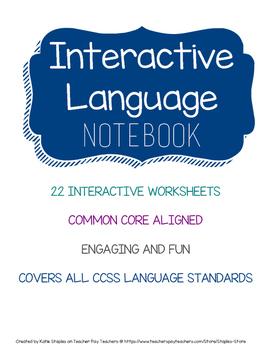 Language Arts Interactive Notebook