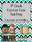 5th Grade Common Core Language & Writing Practice & Test Prep