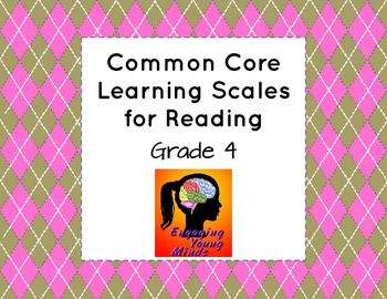Common Core Learning Scales for Reading- Grade 4