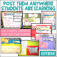 Common Core Learning Target All Subject BUNDLE 2nd grade