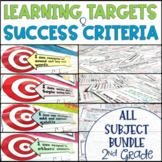 Common Core Learning Target and Success Criteria Bundle ME