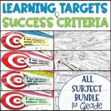 Common Core Learning Target and Success Criteria MEGA BUNDLE 1st Grade