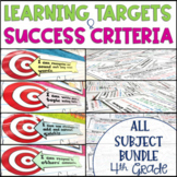 Common Core Learning Target and Success Criteria MEGA BUND