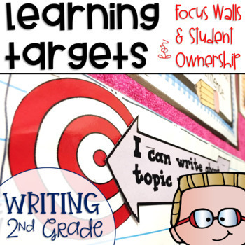 Common Core Writing Learning Targets 2nd grade