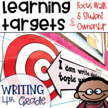 Common Core Learning Targets for Writing 4th grade