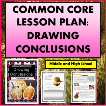 Common Core Lesson Plan: Drawing Conclusions