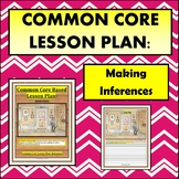 Common Core Lesson Plan: Making Inferences