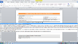Common Core Lesson Plan Math Grade 4 w/Standards in Drop D
